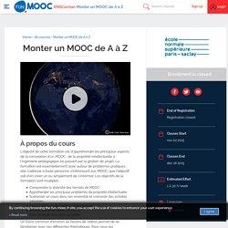 FUN - Monter un MOOC de A à Z