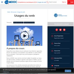 FUN - Usages du web