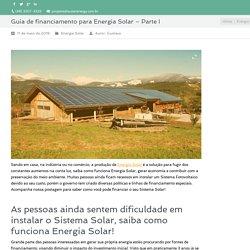 Como funciona energia solar - Auster Energy