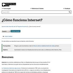 ¿Cómo funciona Internet? - Aprende sobre desarrollo web