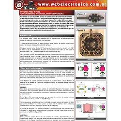 MOTORES PASO A PASO - FUNCIONAMIENTO Y CONTROL POR COMPUTADORA
