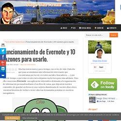 Funcionamiento de Evernote y 10 razones para usarlo. - Diego Díez Arnaiz