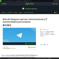 Bots de Telegram: qué son, cómo funcionan y 17 recomendados para empezar