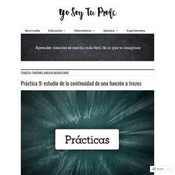 funciones.análisis.bachillerato – Yo Soy Tu Profe