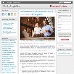 Las funciones de un responsable en logística