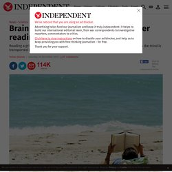 Brain function 'boosted for days after reading a novel' - Science - News