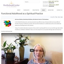 Functional Adulthood as a Spiritual Practice