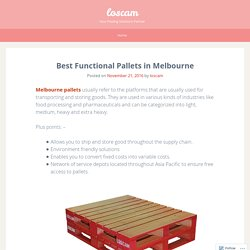 Best Functional Pallet Solution in Melbourne