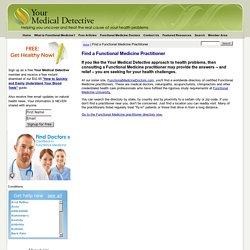 Find a Functional Medicine Practitioner