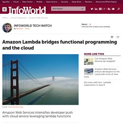 Amazon Lambda bridges functional programming and the cloud