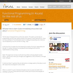 Functional Programming (in #scala) for the rest of us | Open Source Solutions for Software Development