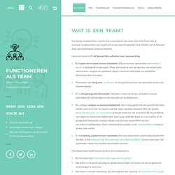 Functioneren als team · Vivo