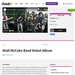 Niall McCabe Band Debut Album