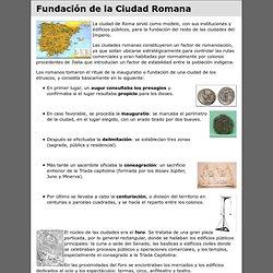 Fundación de la ciudad romana