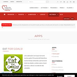 Eat for goals!