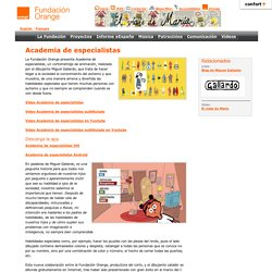 Fundación Orange - Academia de especialistas