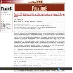 Fundación Joaquín Díaz - Revista de Folklore