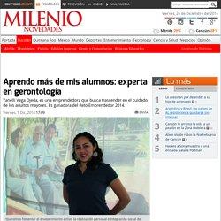 Yucatán: Yanelli Vega Ojeda, fundadora del Inugey y experta en envejecimiento