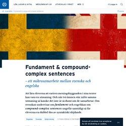 Fundament & compound-complex sentences