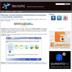 Wikisaber, un portal educativo fundamentado en la enseñanza y el aprendizaje colaborativos