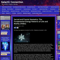 Sacred and Fractal Geometry: The Fundamental Energy Patterns of Life and Reality (Video)