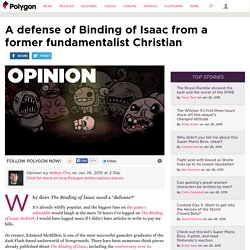 A defense of Binding of Isaac from a former fundamentalist Christian