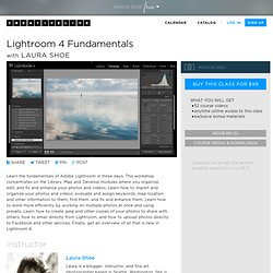 Lightroom 4 Fundamentals with Laura Shoe