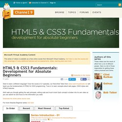 HTML5 & CSS3 Fundamentals: Development for Absolute Beginners