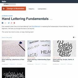 Hand Lettering Fundamentals - Tuts+ Design & Illustration Tutorials