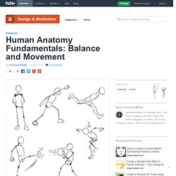 Human Anatomy Fundamentals: Balance and Movement – Design & Illustration – Tuts+ Tutorials