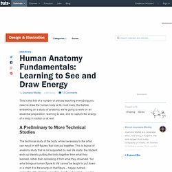 Human Anatomy Fundamentals: Learning to See and Draw Energy