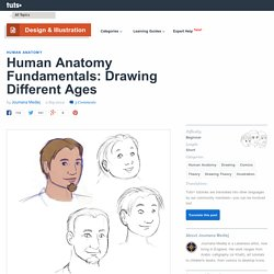 Human Anatomy Fundamentals: Drawing Different Ages