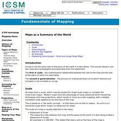 Fundamentals of Mapping
