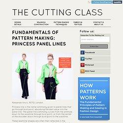 Fundamentals of Pattern Making: Princess Panel Lines