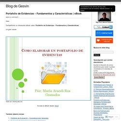 Portafolio de Evidencias – Fundamentos y Características