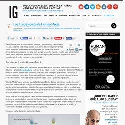 Los Fundamentos de Human Media - Isra Garcia - Social Media