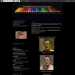fundamentos de pintura: COLLAGE (estudio de planos y carnación) (alum. 10/11 entrega 10 enero)
