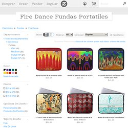 Fire Dance Computer Sleeves from Zazzle