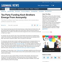 Tea Party Funded by Koch Brothers
