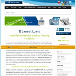 About - Legal Funding Company
