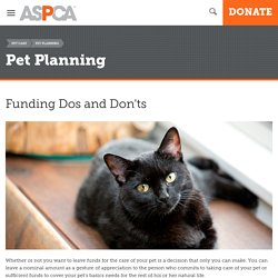 Funding Dos and Don'ts