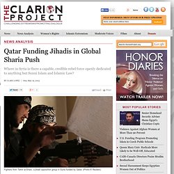 Qatar Funding Jihadis in Global Sharia Push