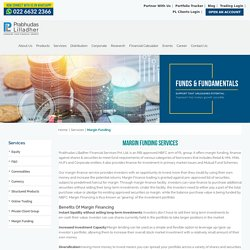 Margin Funding, Loan Against Shares