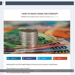 How to Get Funding for Startup in India