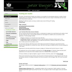 Junior lawyers division
