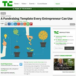 A Fundraising Template Every Entrepreneur Can Use