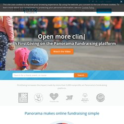 Firstgiving - Online fundraising for everybody