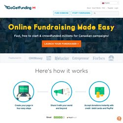 Go Get Funding | Raise Money Online, Start Online Fundraising