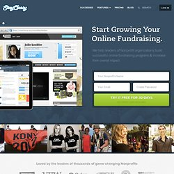 StayClassy | Online Social Fundraising for Nonprofits