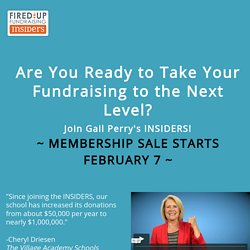 Join Gail Perry's Insiders Today